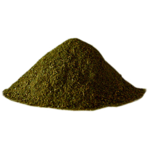 green cinnamon powder