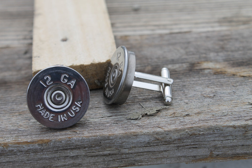 Set Of 10 Or 12 Pairs Federal 12 Gauge Silver Shot Gun Shell Cuff Link Sunshine N Whiskey Life