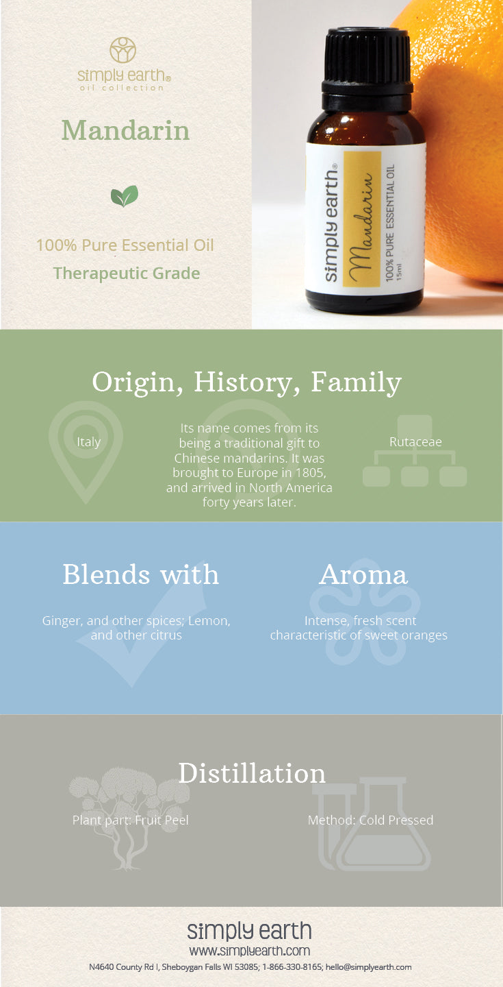 mandarin essential oil facts