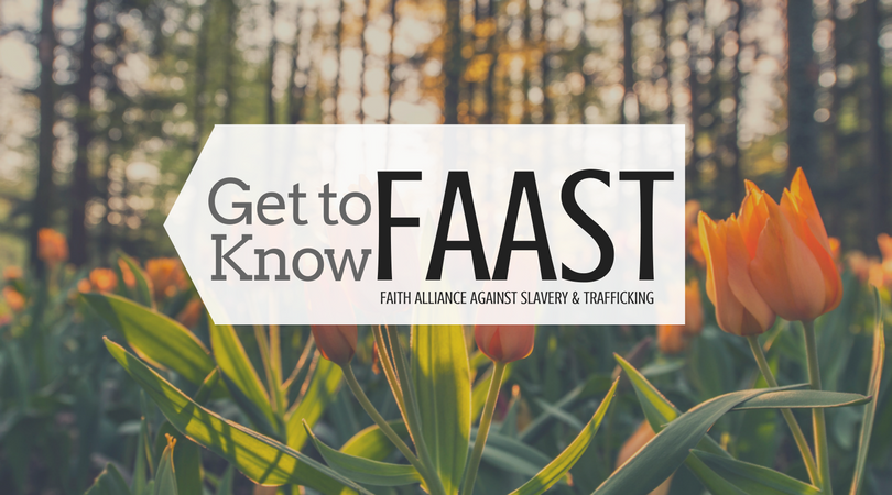 Faith Alliance Against Slavery and Trafficking blog