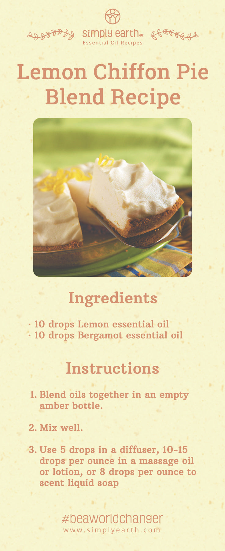 lemon chiffon pie blend recipe
