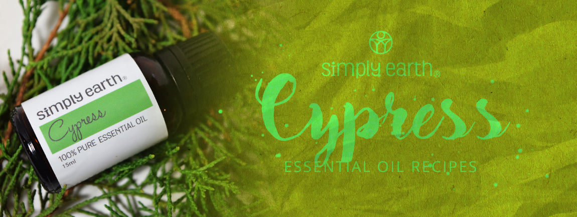 cypress essential oil recipes