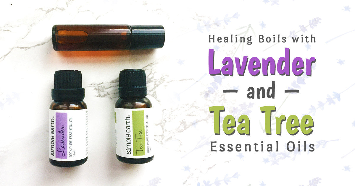 lavender and tea tree remedy,Essential Oils For Boils, Tea Tree Oil For Boils, Essential Oil For Skin Boil, Essential Oils For Healing Boils, Lavender Essential Oil For Boil