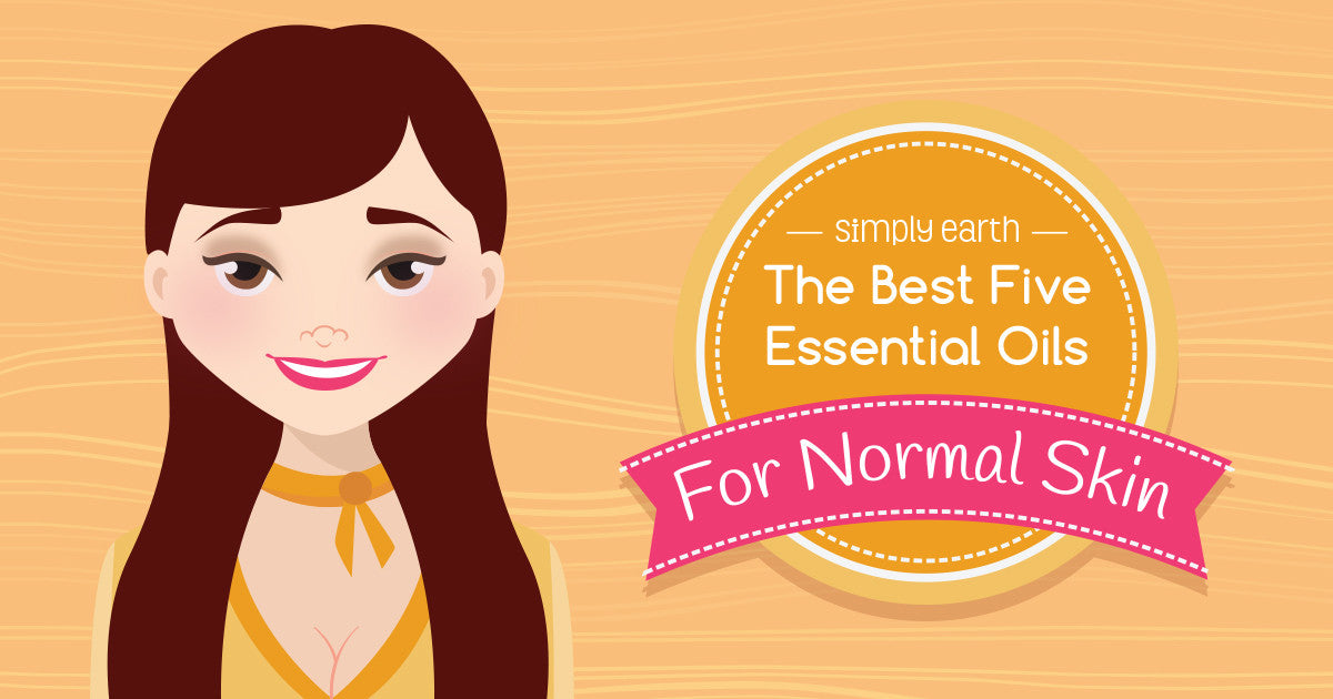 best essential oils for normal skin