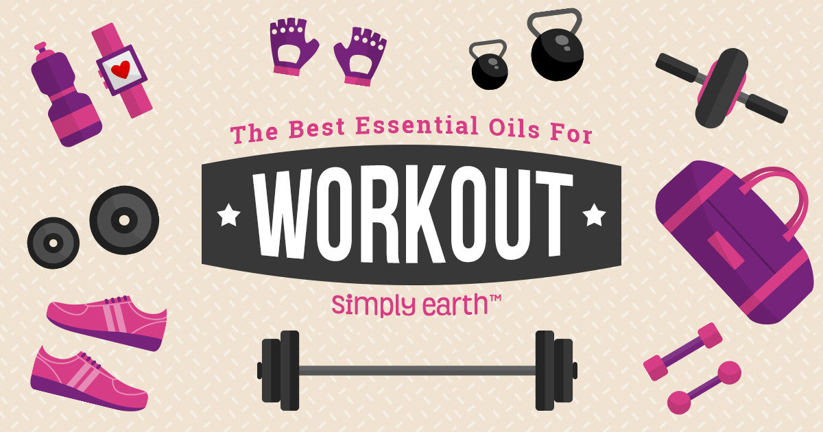 Best Essential Oils to Boost Your Workouts