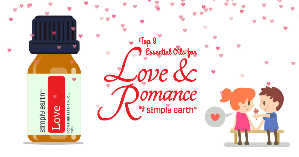 essential oils for love & romance