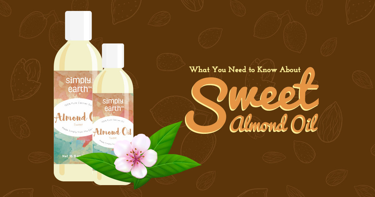 simply earth's sweet almond oil