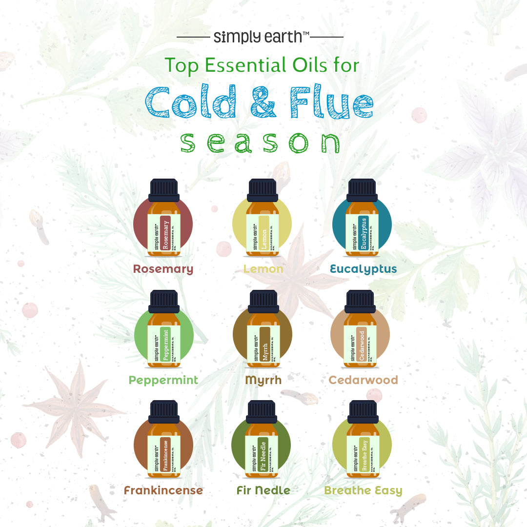 Essential Oils For Cold & Flu