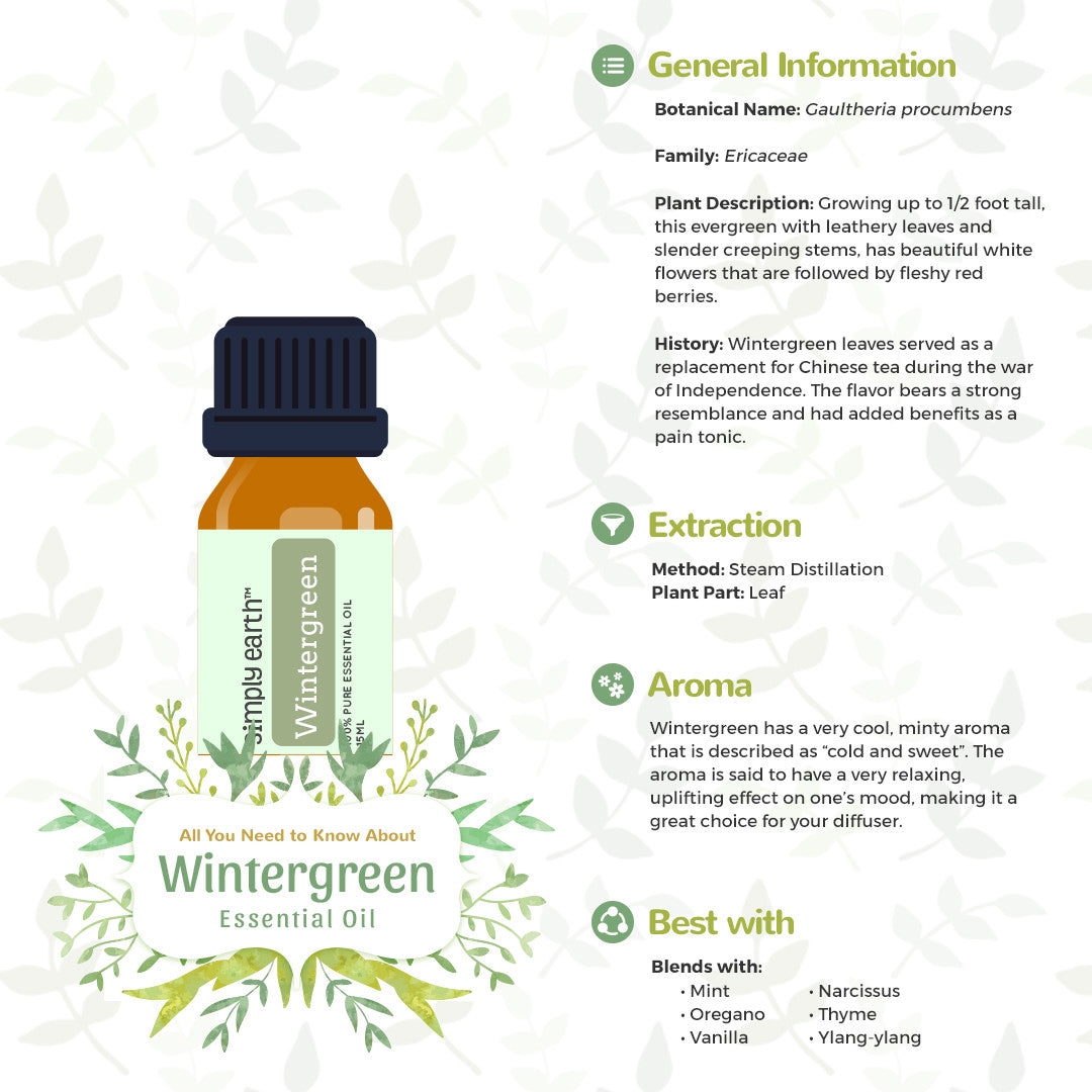 wintergreen essential oil uses