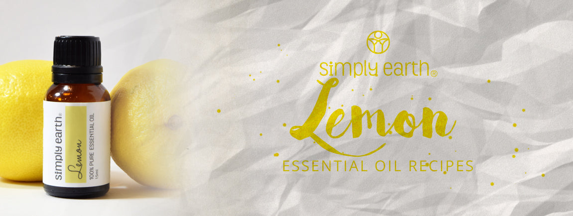 lemon essential oil recipes