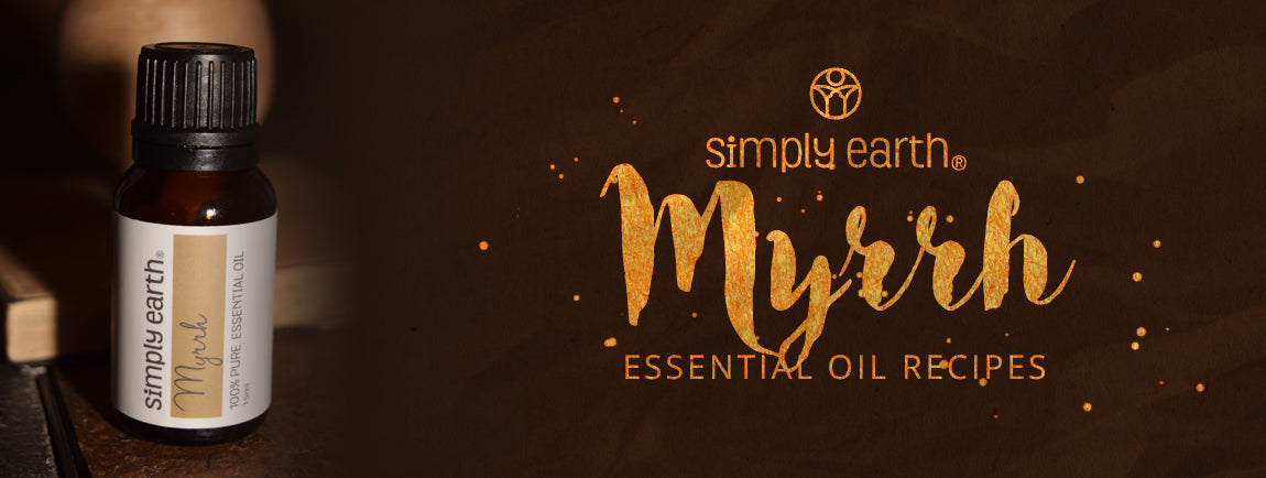 myrrh essential oil recipes