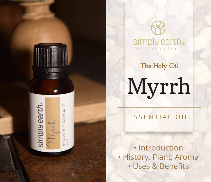 Simply Earth Myrrh Essential Oil