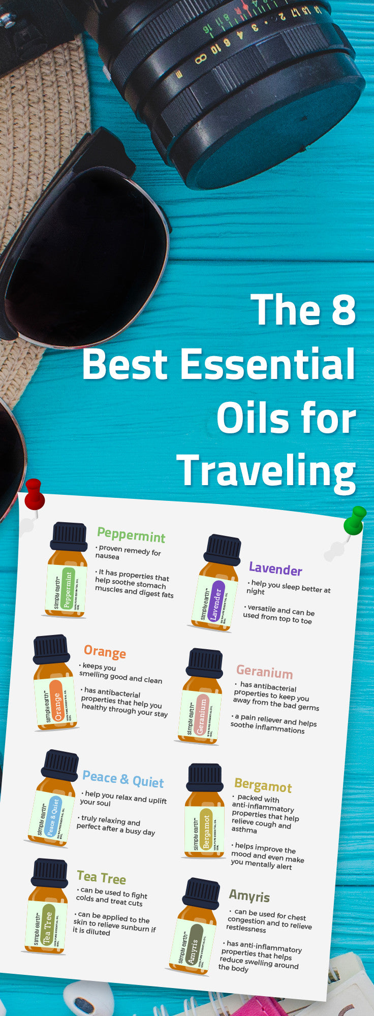 best 8 essential oils for travel