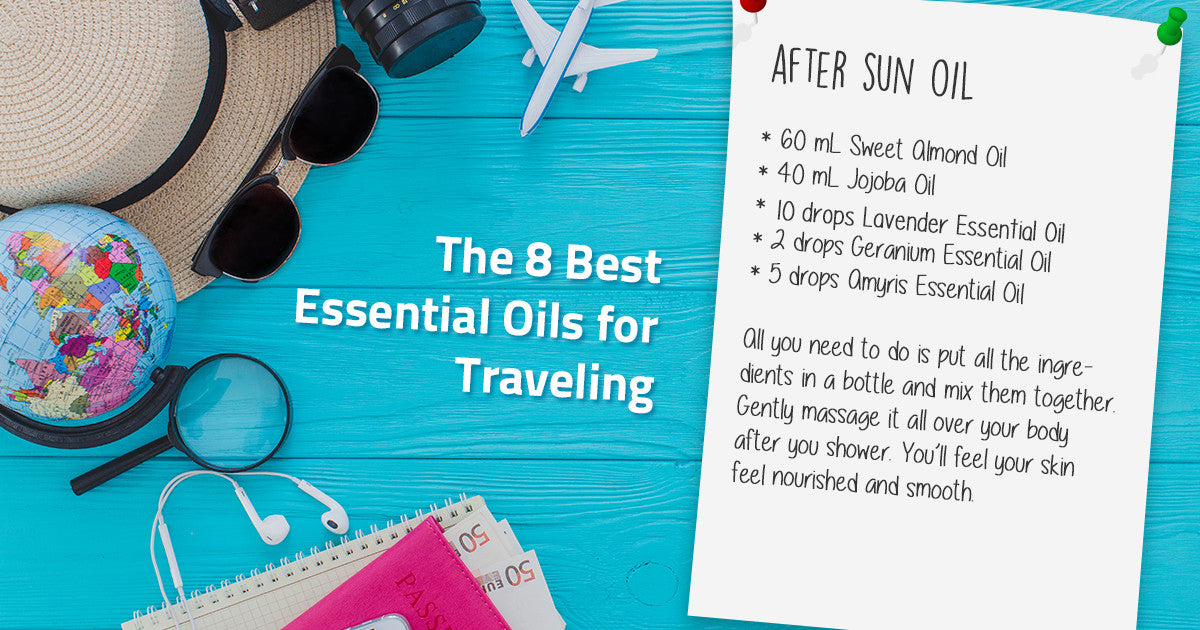 best 8 essential oils for traveling recipe