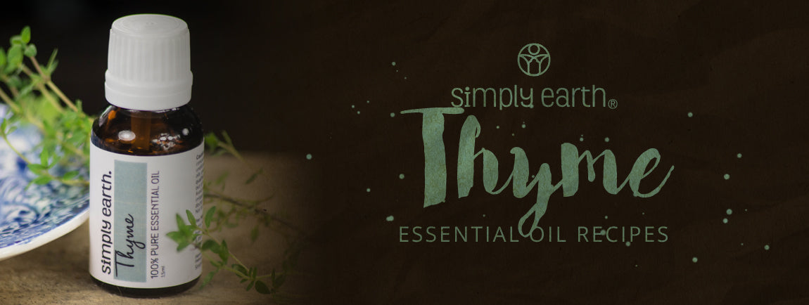 thyme essential oil recipes