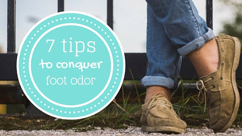 7 tips to fight foot odor