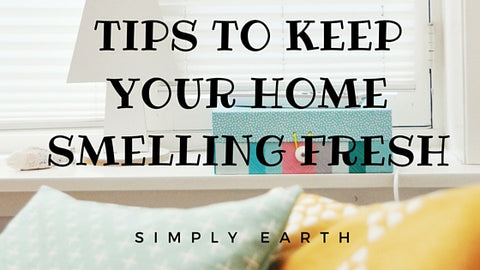 Tips for a great smelling home