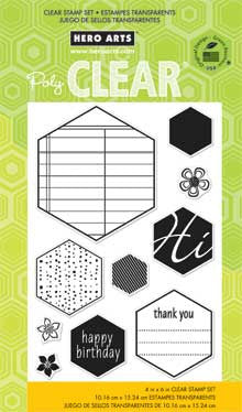Clear Hexagons