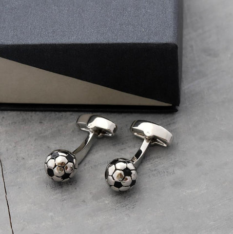 Attic Football cufflinks