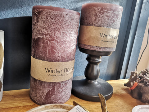 Attic store candles