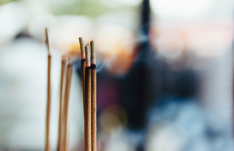Incense for Mindfulness with Attic. Photo by Match Sùmàyà on Unsplash