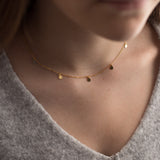 Disc Choker Necklace - NuNu Jewellery