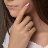 Silver Four Leaf Clover Ring - NuNu Jewellery