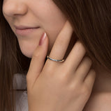 Handmade Smile Ring - NuNu Jewellery