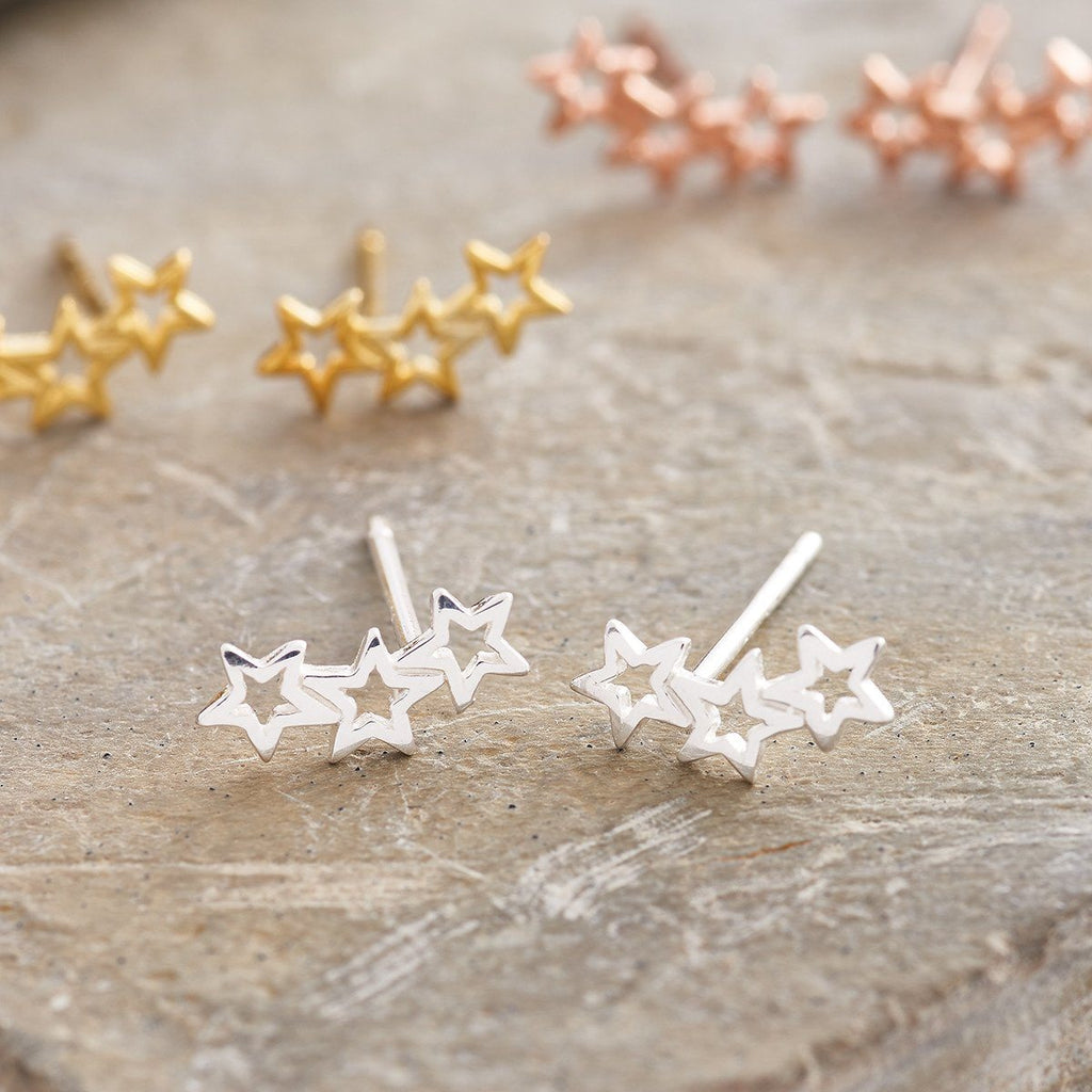 sterling silver twinkle earrings