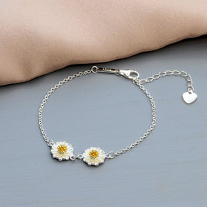 Two Daisies Bracelet - NuNu Jewellery
