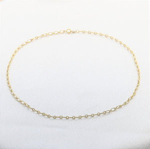 Chain Choker Necklace - sterling silver NuNu jewellery