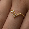 Constellation Star Sign Ring - NuNu Jewellery