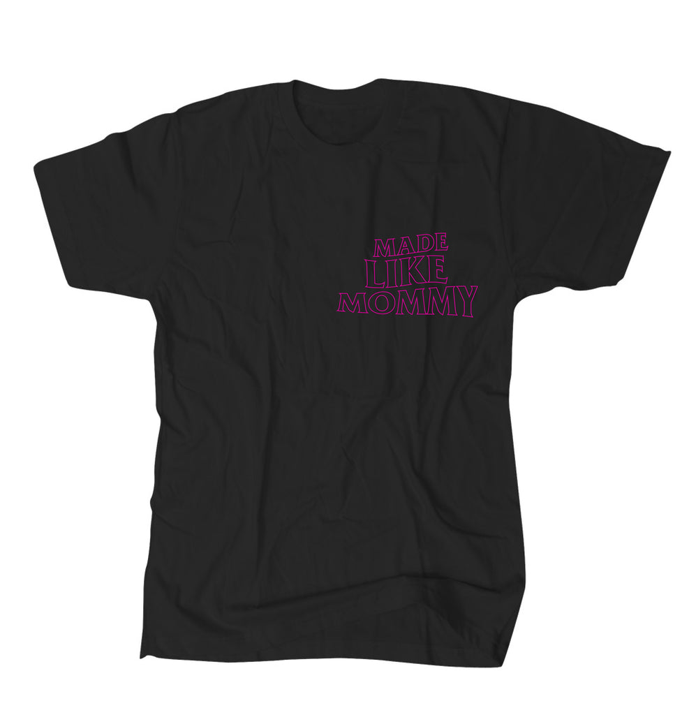 Made Like Mommy - Pink print Tee