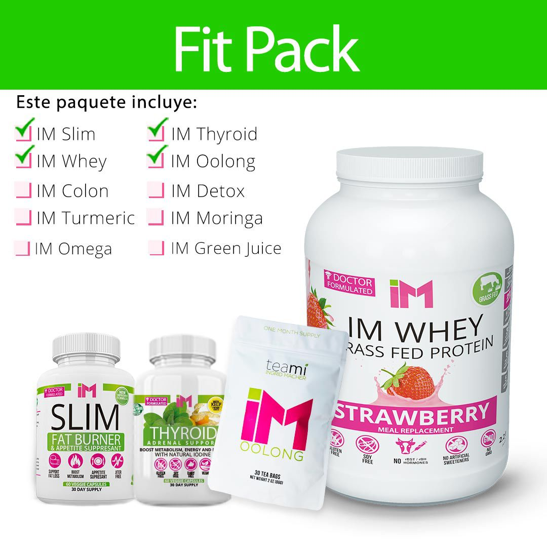 Fit Pack - IM Slim, IM Thyroid, IM Oolong, IM Whey