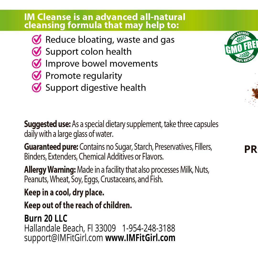 IM Colon Intestinal Cleanser - 3 Frascos
