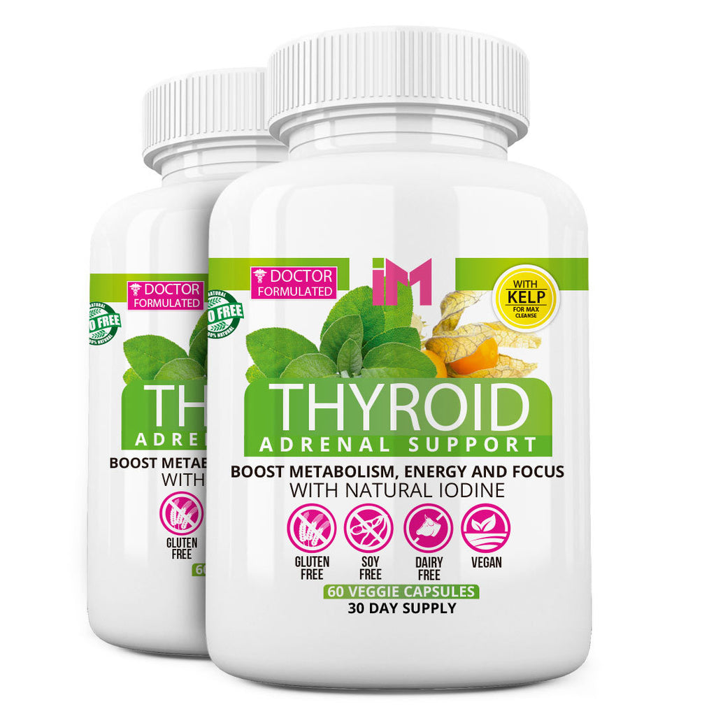IM Thyroid Adrenal Support - 2 Frascos