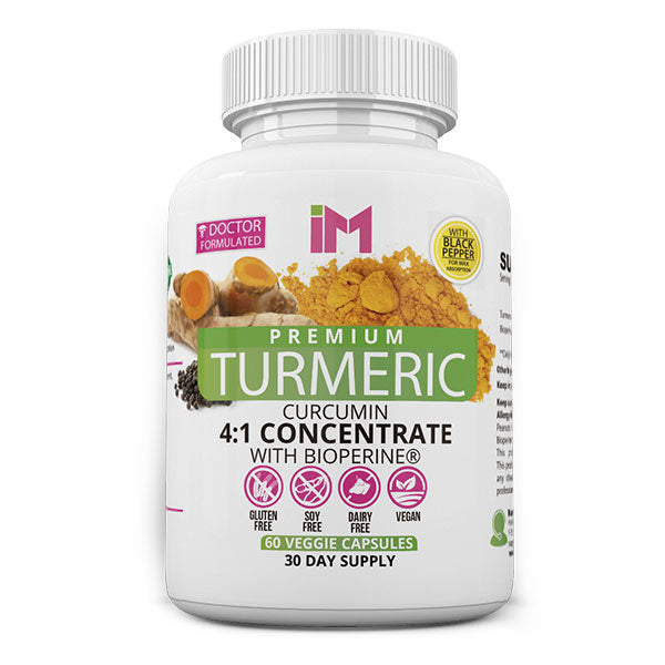 IM Premium Turmeric 4:1 Concentrate with Bioperine