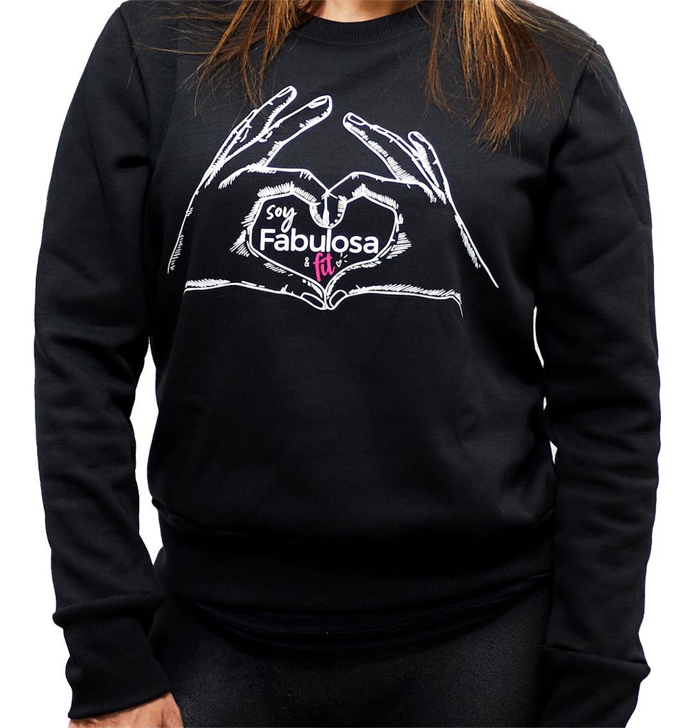 Sudadera/Buso: Soy Fabulosa y Fit (Long Sleeve Sweatshit)