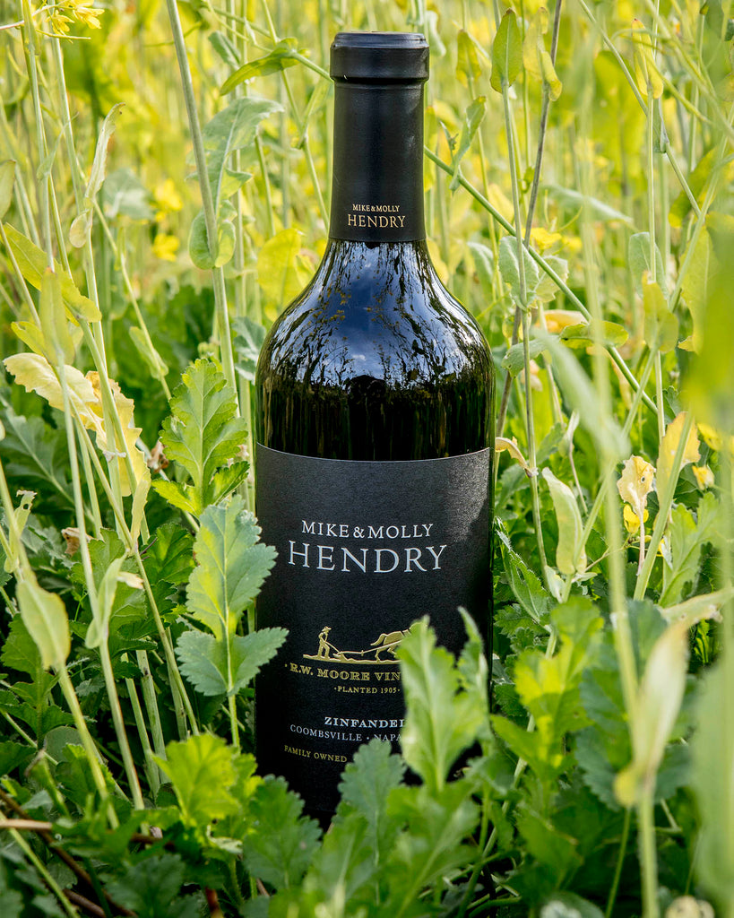 Mike and Molly Hendry 2017 Zinfandel, RW Moore Vineyard, Napa Valley