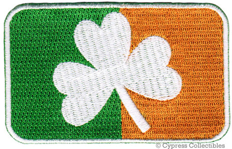 IRELAND CLOVER FLAG PATCH