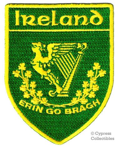 ERIN GO BRAGH SHIELD PATCH
