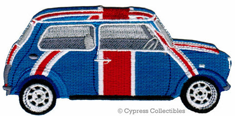 BRITISH MINI COOPER EMBROIDERED PATCH