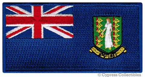 BRITISH VIRGIN ISLANDS FLAG PATCH
