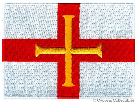 Bailiwick of Guernsey Flag Patch