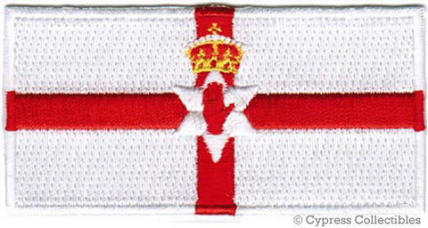NORTHERN IRELAND FLAG PATCH