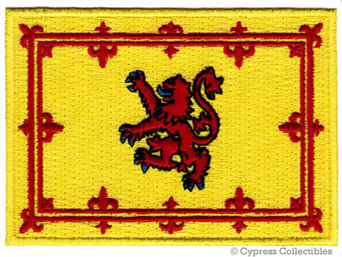 SCOTLAND LION RAMPANT FLAG PATCH