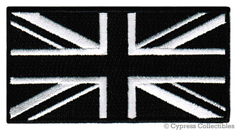 ALL-BLACK UNION JACK FLAG PATCH