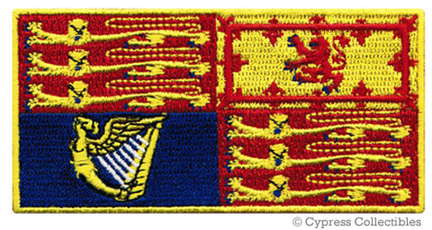 UK ROYAL STANDARD FLAG PATCH