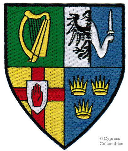 IRELAND COAT OF ARMS PATCH