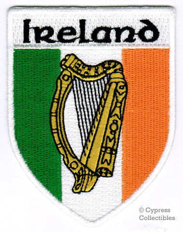 IRISH COAT OF ARMS PATCH